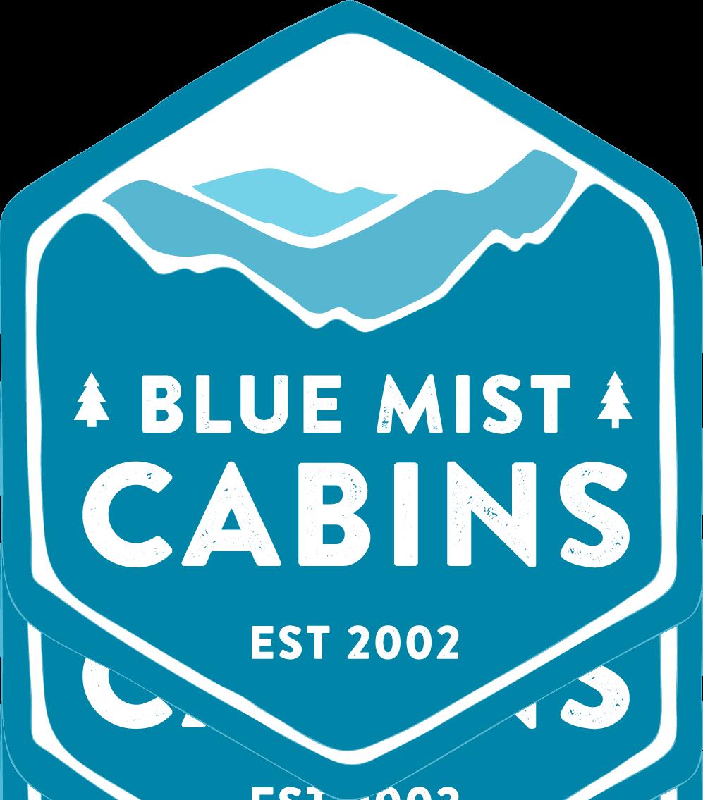 Blue Mist Cabins logo